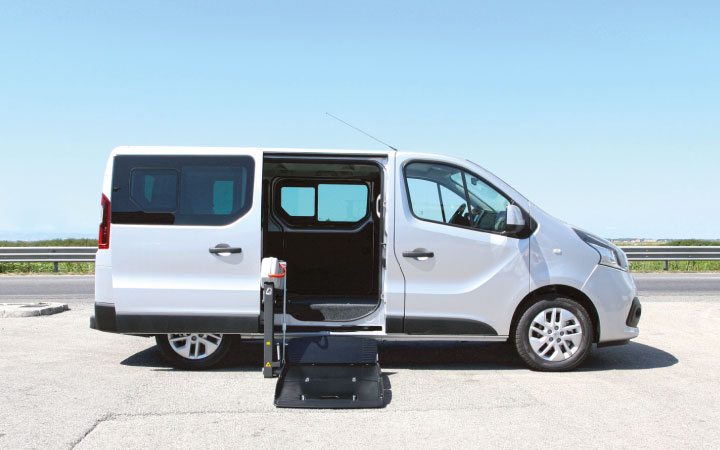 Renault Trafic Sollevatore Laterale